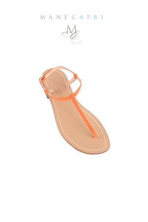 Gold handmade sandals Da Costanzo | 5032256 | S1918ARANCIO