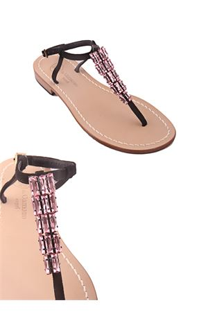 Pink Jewel Capri sandals Da Costanzo | 5032256 | S2897ROSA