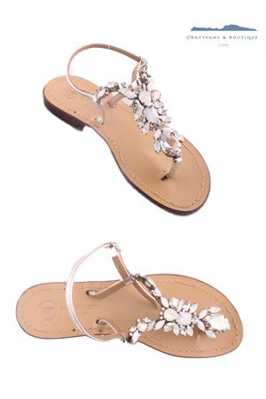 Bridal jewel sandals Da Costanzo | 5032256 | S3056BIANCO