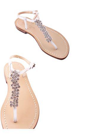 Bridal jewel sandals Da Costanzo | 5032256 | S3082BIANCO