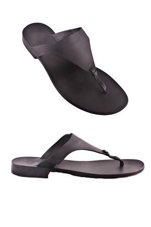 Handmade Capri Sandals Da Costanzo | 5032256 | XV2497NERO