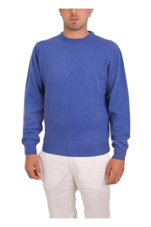 Men cachemere knitwear Denny | 7 | PARICOLLOBLU ROYAL