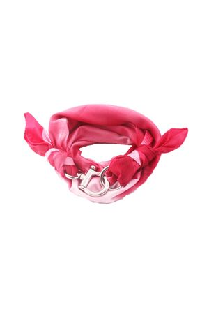 Pink scarf with hook closure Grakko Fashion | -709280361 | GR118EROSA