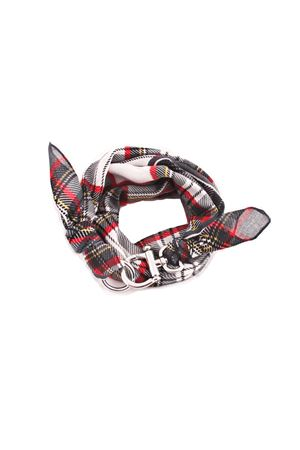 Wool scarf with silver hook Grakko Fashion | -709280361 | GR136ROSSO