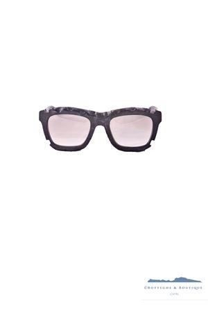 Occhiali da sole con montatura traforata Kuboraum Kuboraum | 53 | MASKEC2C2