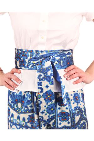 Obi belt double face  Laboratorio Capri | 22 | LAB127OBY KIMONO BLU