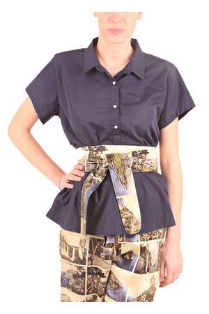 Wide cotton handmade shirt Laboratorio Capri | 6 | LAB148LILLY BLUE
