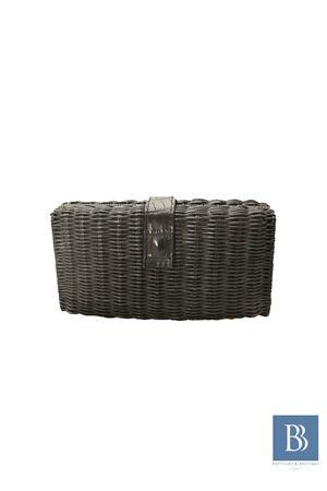 Pith handmade clutch Laboratorio Capri | 31 | LAB156NERO