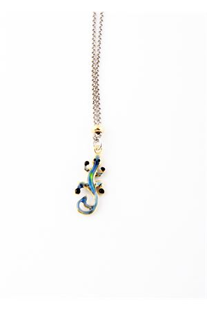 Blue lizard necklace Pierino Jewels | 35 | 3048ABLU