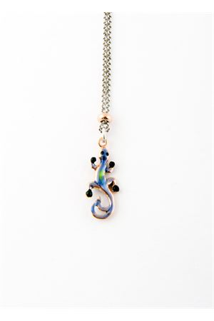 Blue lizard necklace Pierino Jewels | 35 | 3048AVERDE