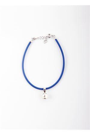 Bracelet with silver  Capri Bell pendant Pierino Jewels   36   CAPRI BRACAZZURRO