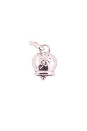 Capri bell silver pendant with quatrefoil Pierino Jewels | 5032249 | QUADRIFOGLIOARGENTO