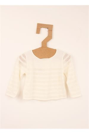 White cotton sweater Amina Rubinacci | 7 | AR21PANNA