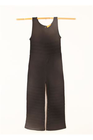 Long black jumpsuit Amina Rubinacci | 19 | AR28NERO