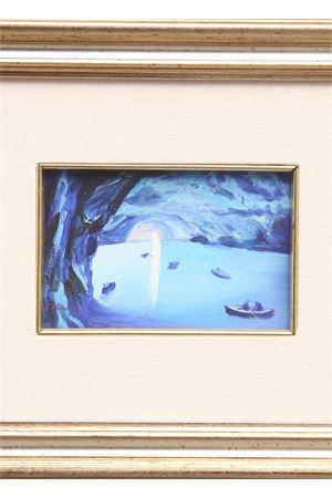 Blue Grotto oil on canvas Antonio Palomba | 20000003 | BLUE GROTTO13X18