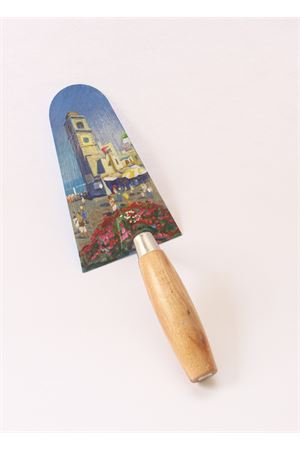 Oil painting on trowel - Art from Italy Antonio Palomba | 20000038 | CAZZUOLA PIAZZETTAPIAZZA