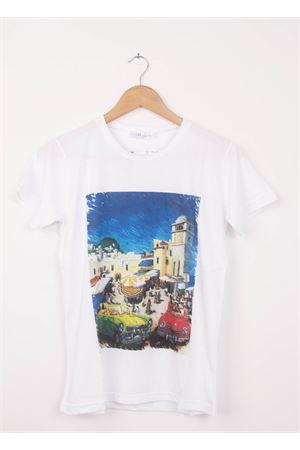 T-shirt in cotone Piazzetta Capri Aram Capri | 8 | 110002012AZZURRO