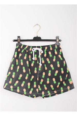 Costume da uomo con fantasia ananas Aram V Capri | 85 | ANANASANANAS