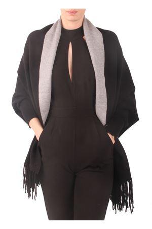 Reversibile poncho jacket Aram V Capri | 3 | PNSEFFW16GBNERO