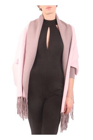 Giacca con frange rosa e beige doubleface Aram V Capri | 3 | PNSEFFW16TPROSA