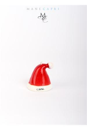 Campanella di Capri portafortuna a forma di cappello di natale da collezione Capri Bell | 20000008 | 20104283CAPPELLO NATALE