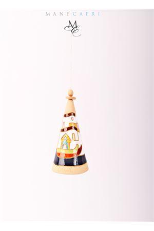 Campanella di Capri portafortuna in ceramica dipinta a mano Capri Bell | 20000008 | 20105105PORTO CAPRI MED