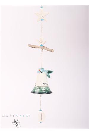 Elemento decorativo con campanella di Capri e pesciolino Capri Bell | 20000008 | 20110727PESCIOLINO