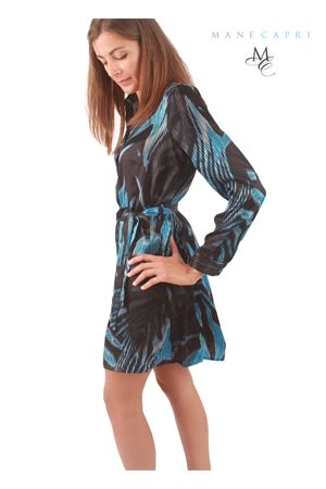 Silk elegant blouse Capri Chic | 5032262 | CHEMISIERBLU