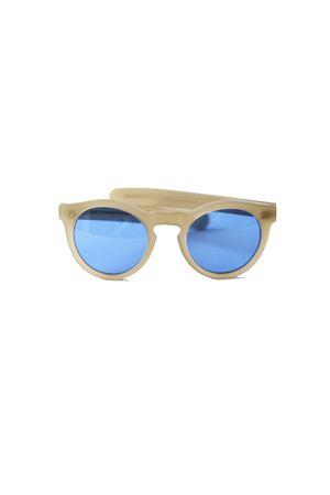 Occhiali da sole artigianali con lente flat modello Botteghe Capri People | 53 | BOTTEGHE4123CA853