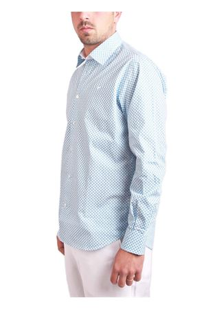 Turquoise cotton shirt Colori Di Capri   6   7471TURCHESE