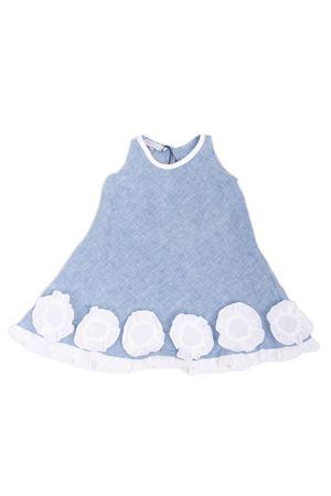 Vestito da bimba in lino azzurro Colori Di Capri | 5032262 | MARGOTAZZURRO