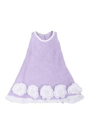 Abitino da bambina in lino lilla Colori Di Capri | 5032262 | MARGOTLILLA