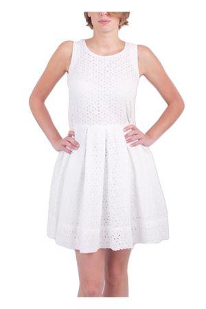 San Gallo lace mini dress Colori Di Capri | 5032262 | SANGALLOBIANCO