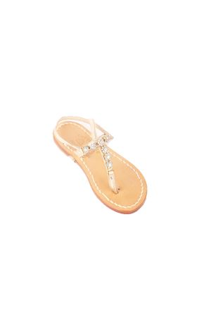 Jewels Capri sandals for babygirl Cuccurullo | 5032256 | BABY GIRL 1AZZURRO