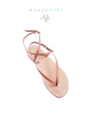 Sandalo Caprese intrecciato Cuccurullo | 5032256 | SAINT TROPEZMARRONE