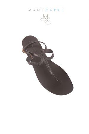 Sandali capresi con chiusura alla caviglia Da Costanzo   5032256   2357/CNERO