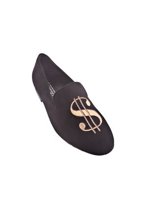 Handmade loafers with dollar symbol  Da Costanzo | 12 | DOLLARNERO