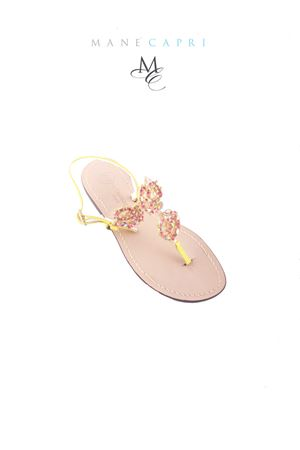 Da Costanzo Capri jellow jewel sandals Da Costanzo | 5032256 | S3209GIALLO
