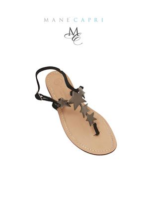 Capri sandals with jewel stars  Da Costanzo   5032256   S3348NERO