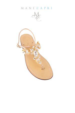 Handmade Capri Sandals Da Costanzo   5032256   S3697ORO