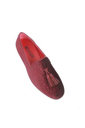 Bordeaux velvet loafers Da Costanzo | 12 | VELVET UOMOBORDEAUX