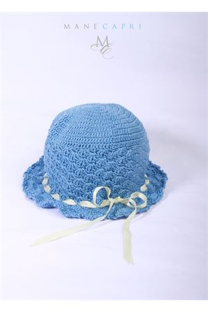 Baby embroidered hat La Bottega delle Idee | 26 | C87CPERVINCA/RICAMO