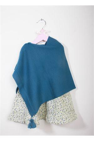 Poncho per neonata in lana merino La Bottega delle Idee | 52 | PONCHONBA9