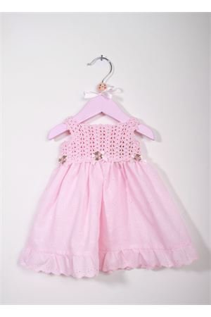 Baby embrodered pink dress La Bottega delle Idee | 5032262 | V116SANGALLO ROSA