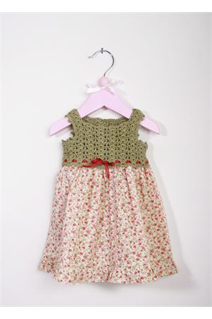 Baby handmade embroidered dress La Bottega delle Idee | 5032262 | V146FIORI