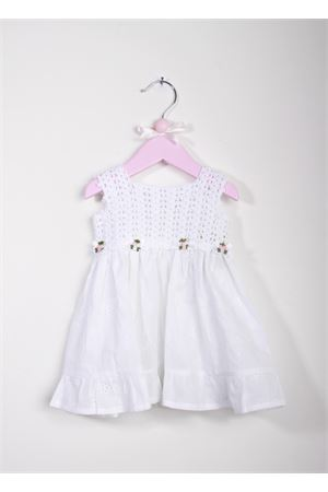 Baby handmade embroidered dress La Bottega delle Idee | 5032262 | V38SANGALLO BIANCO