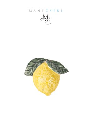 Calamita a forma di Limone di Capri Manè Capri | 20000005 | LIMONE CALAMITAGIALLO