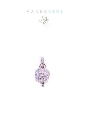 Campanella di Capri in argento e zirconi lilla Manè Capri | 20000055 | MANEBELL2LILLA
