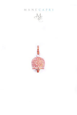 Capri bell charm with orange zircons Manè Capri | 5032249 | MANEBELL3ARANCIO