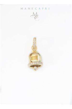Campanella di Capri portafortuna in argento e zirconi Manè Capri | 20000055 | MANEBELLGOLD2ORO